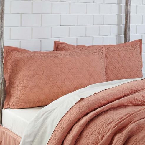 Adelia Apricot By Vhc Brands Quilts Beddingsuperstore Com