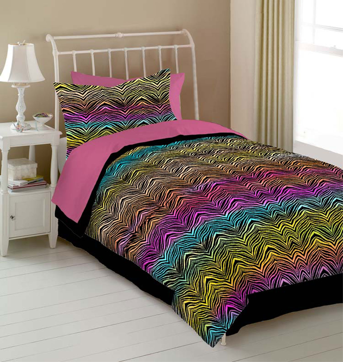 Rainbow Zebra By Veratex Beddingsuperstore Com