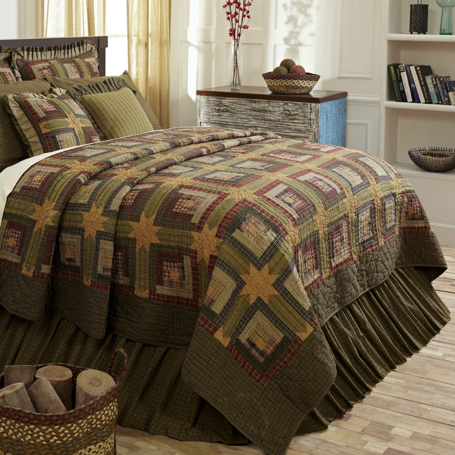 Tea Cabin By Vhc Brands Quilts Beddingsuperstore Com