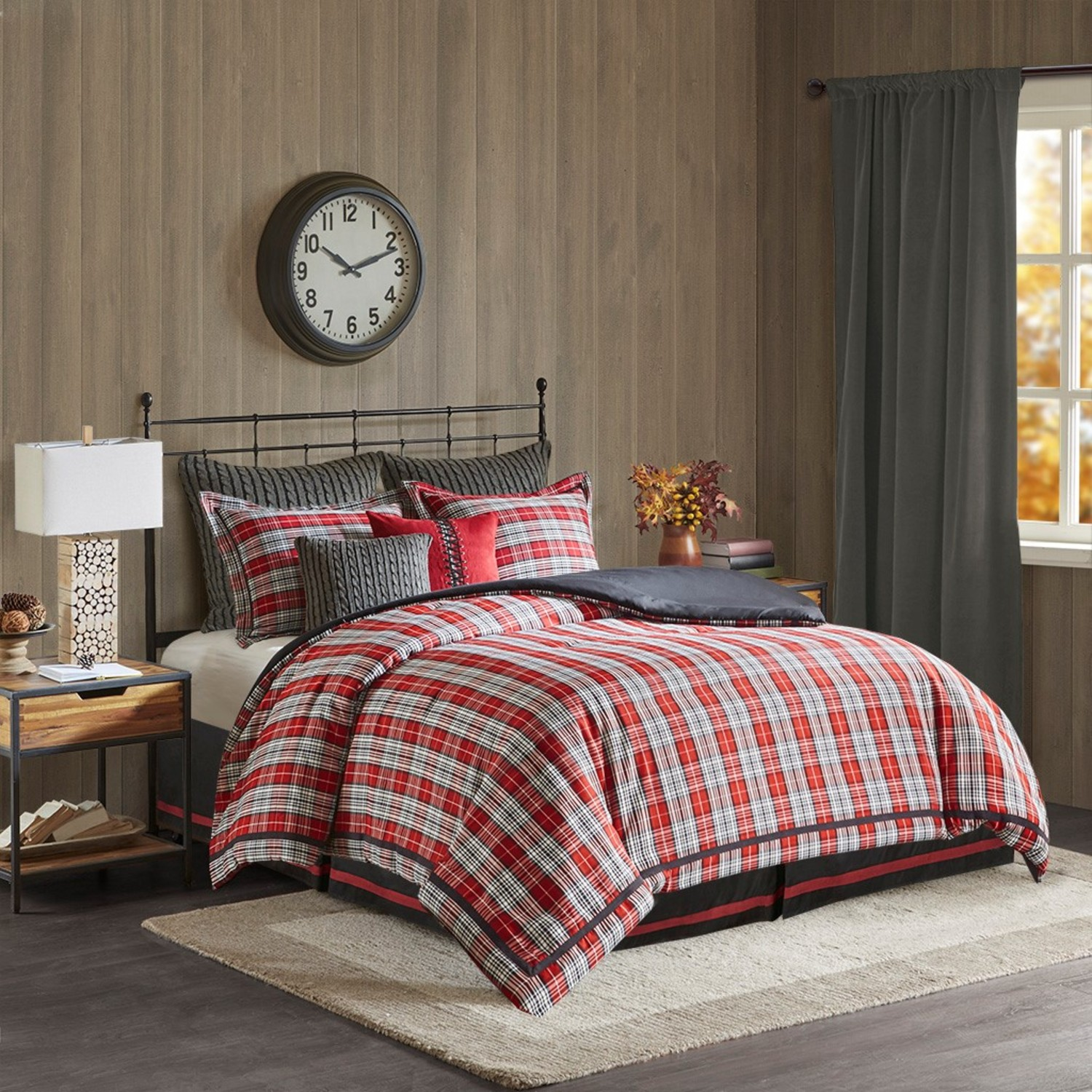 Bedding Decor: Williamsport Plaid By Woolrich