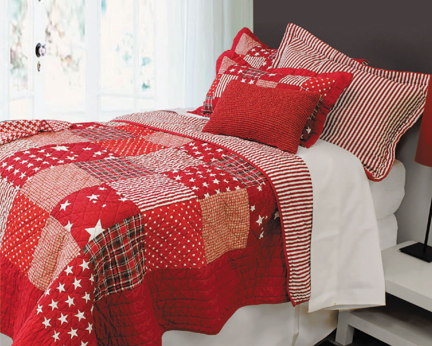 Starry Nights Red by Alamode Home