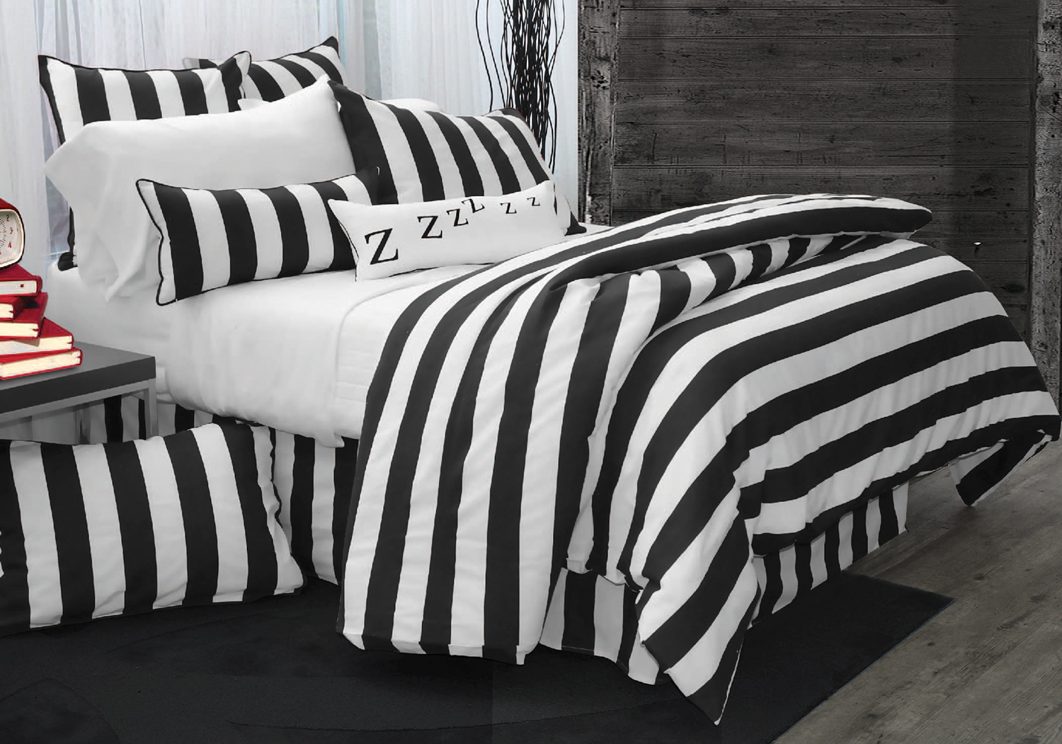 Ahoy Black  by Alamode Home