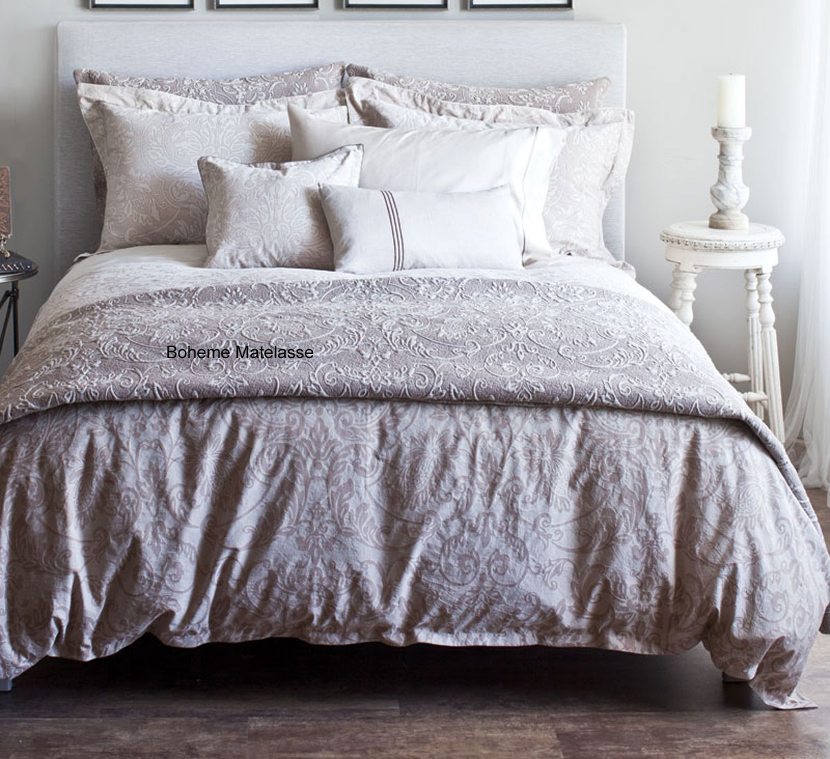 Boheme Fawn by St. Geneve Luxury Bedding