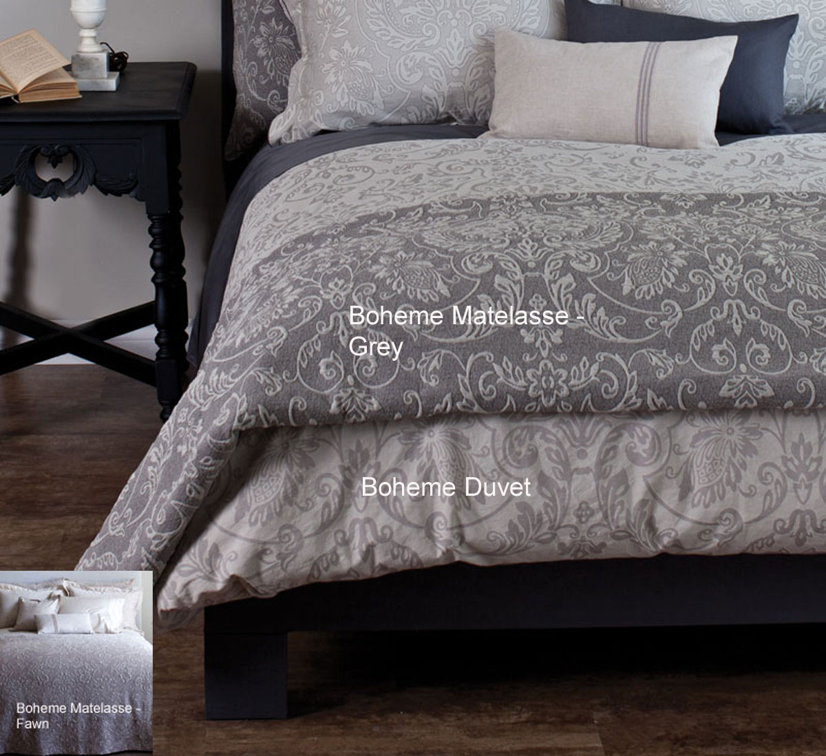 Boheme Matelasse by St. Geneve Luxury Bedding