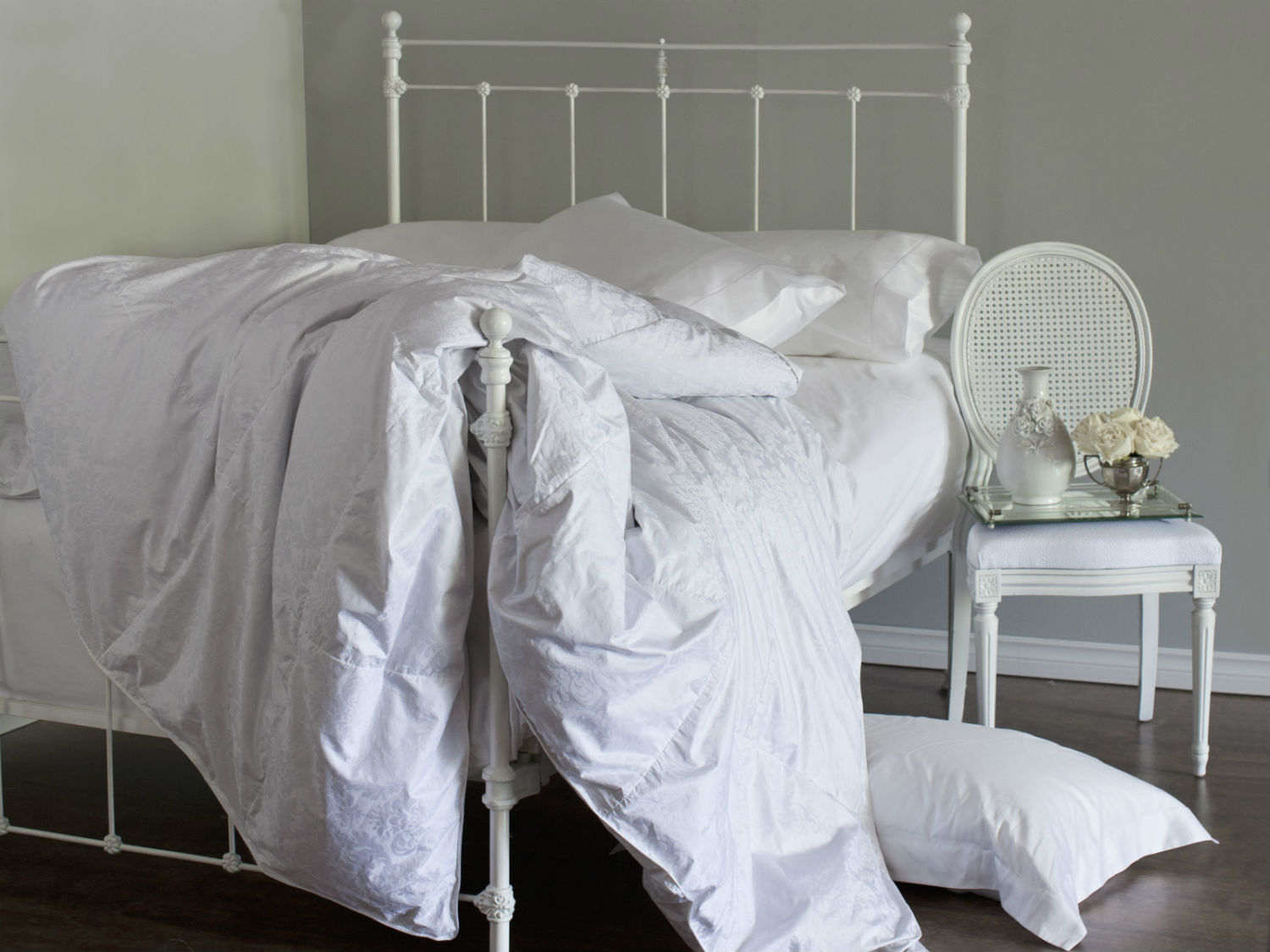 James Bay Cotton Cover Duvet/Down Comforter by St. Geneve Luxury Bedding
