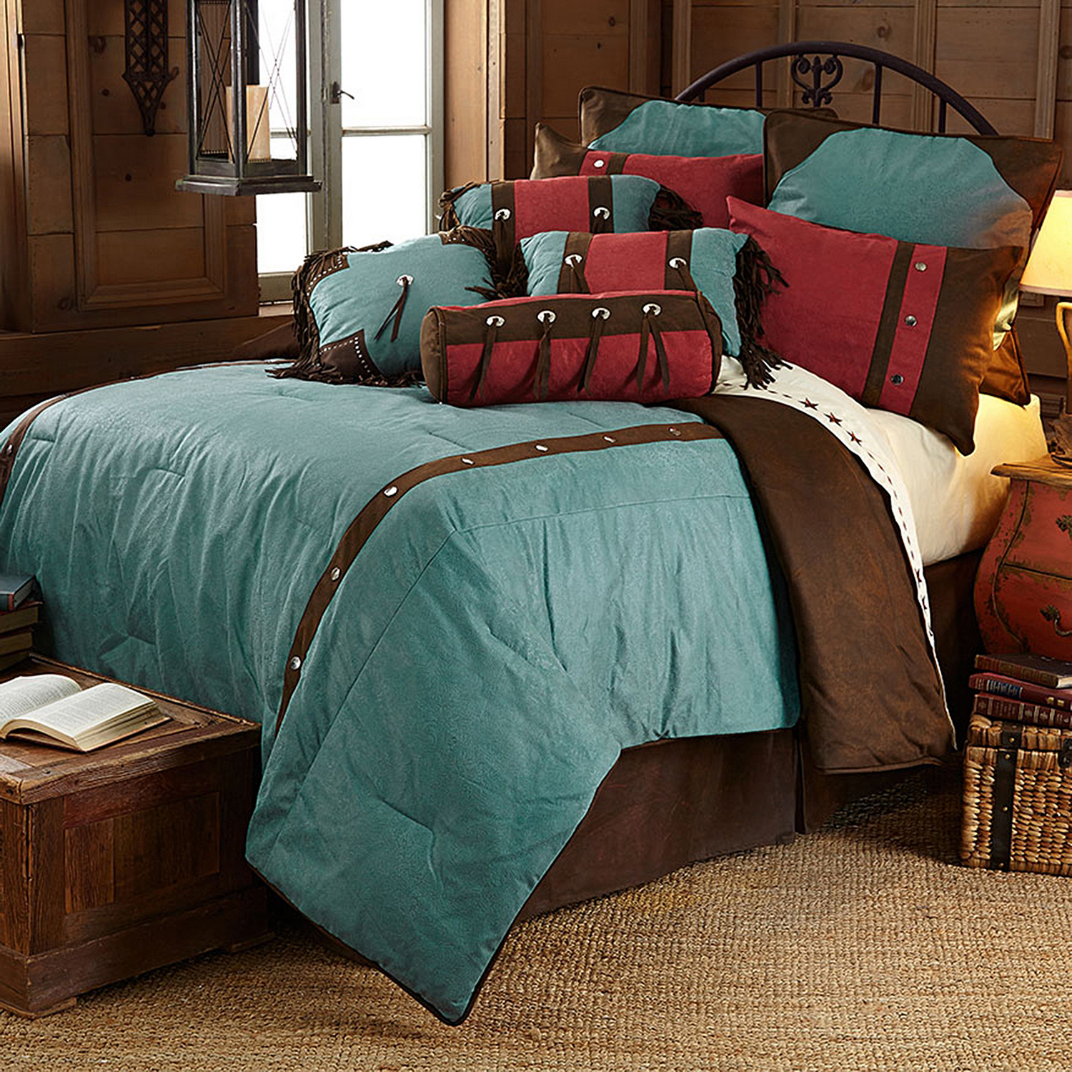 Cheyenne Turquoise by HiEnd Accents HomeMax by HiEnd Accents