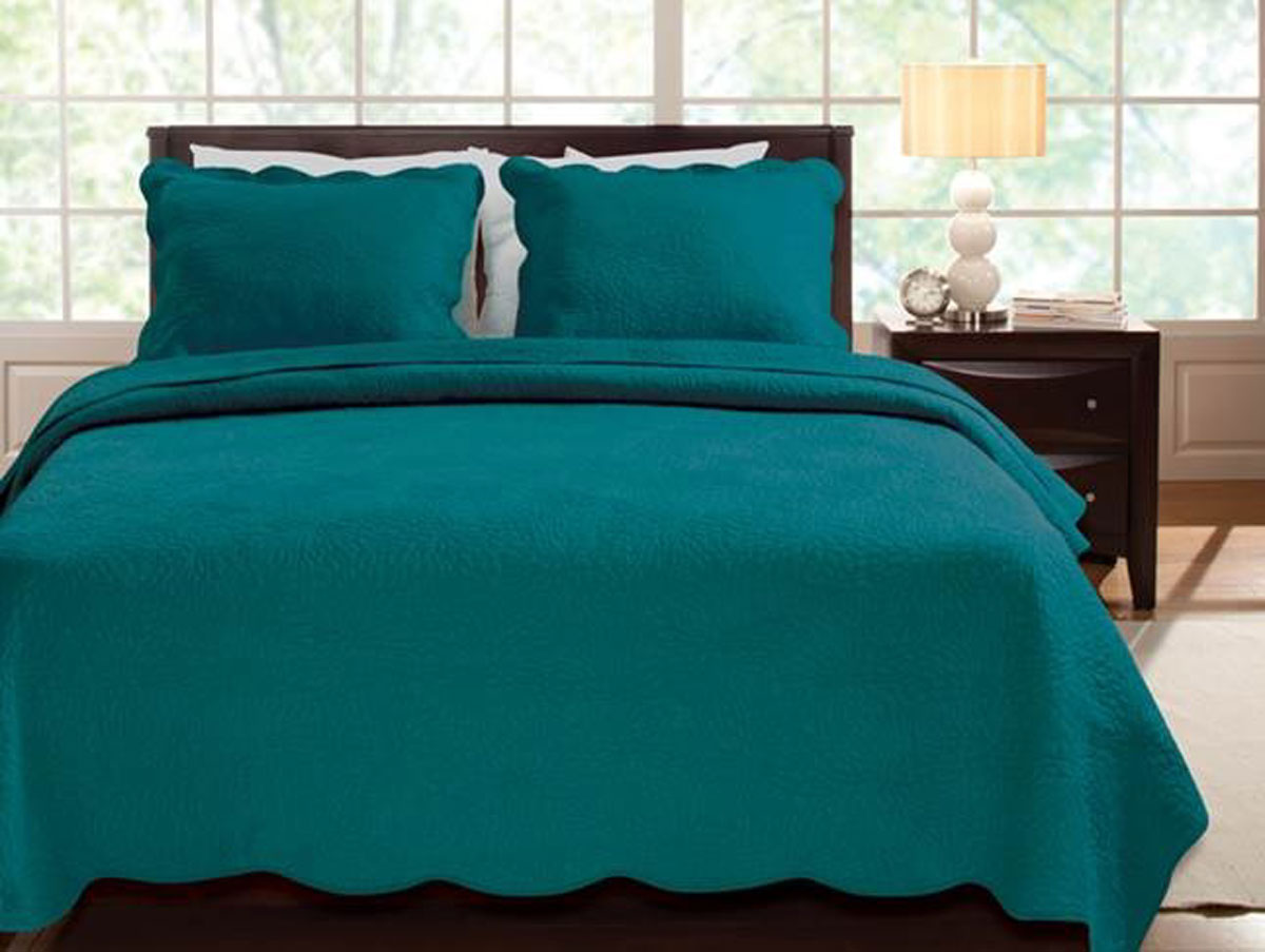 Serenity Teal By Greenland Home Fashions