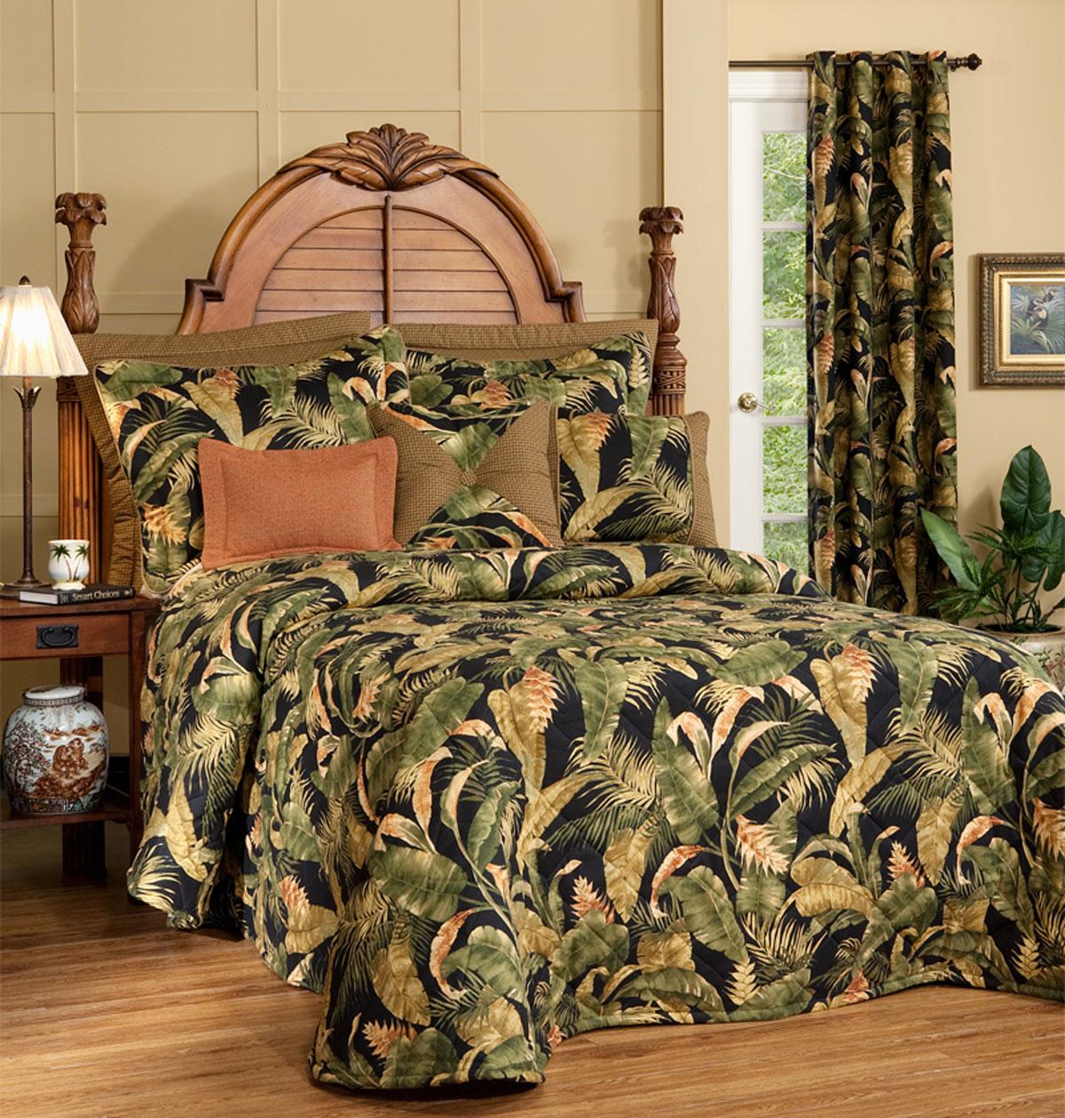 La Selva Black Bedspread By Thomasville Home