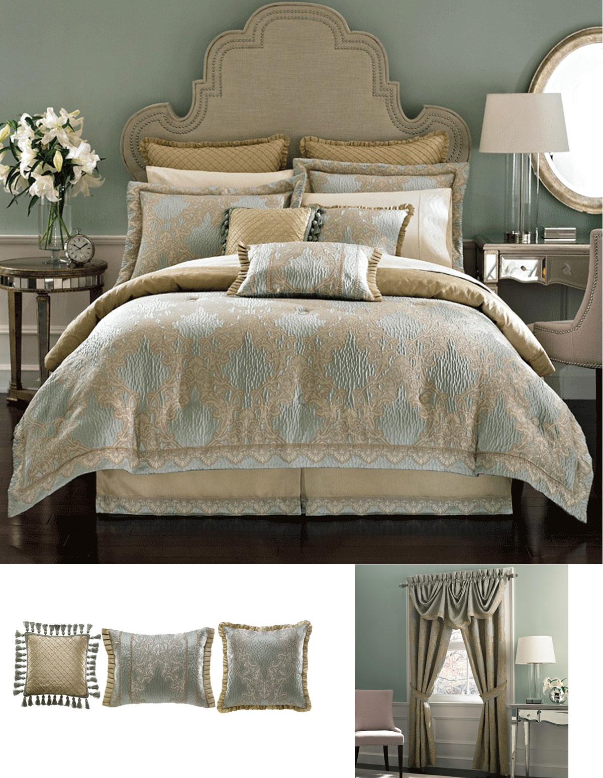 Opal By Croscill Home Fashions