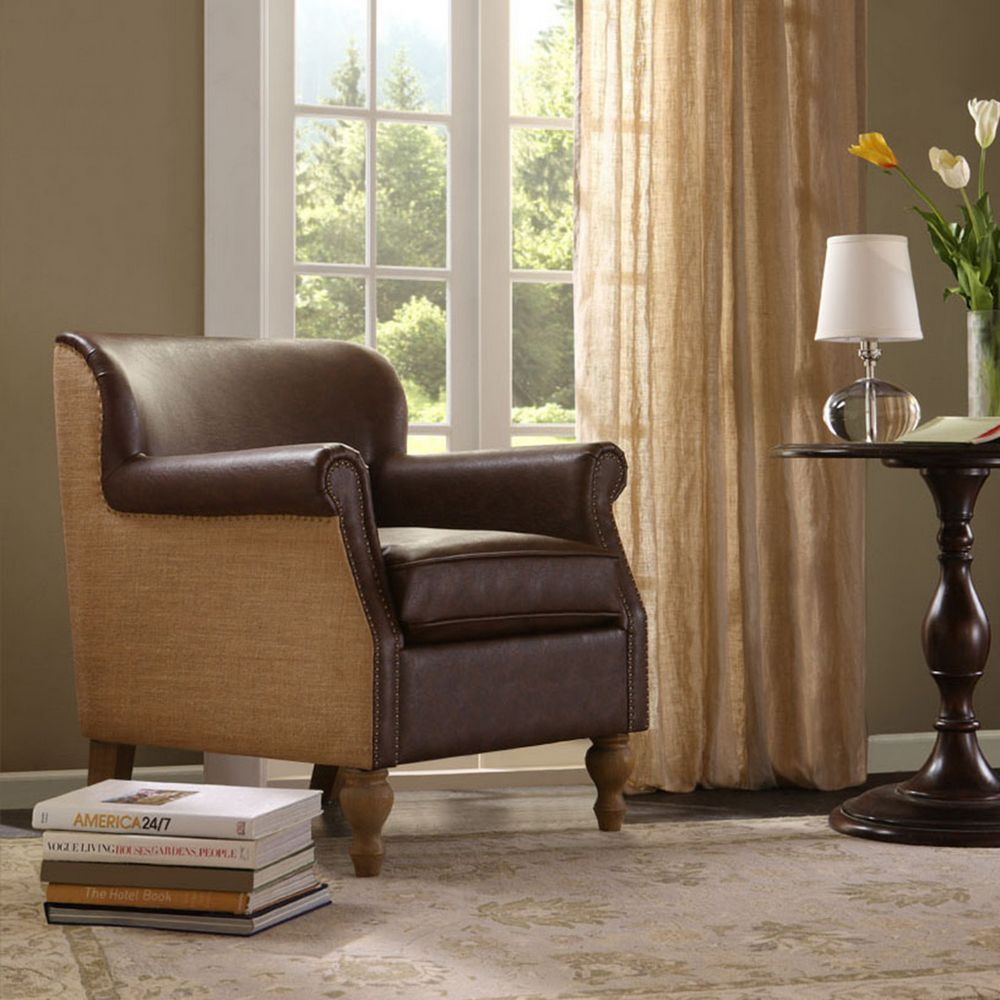 Madison Park Luther Accent Chair Beddingsuperstore Com