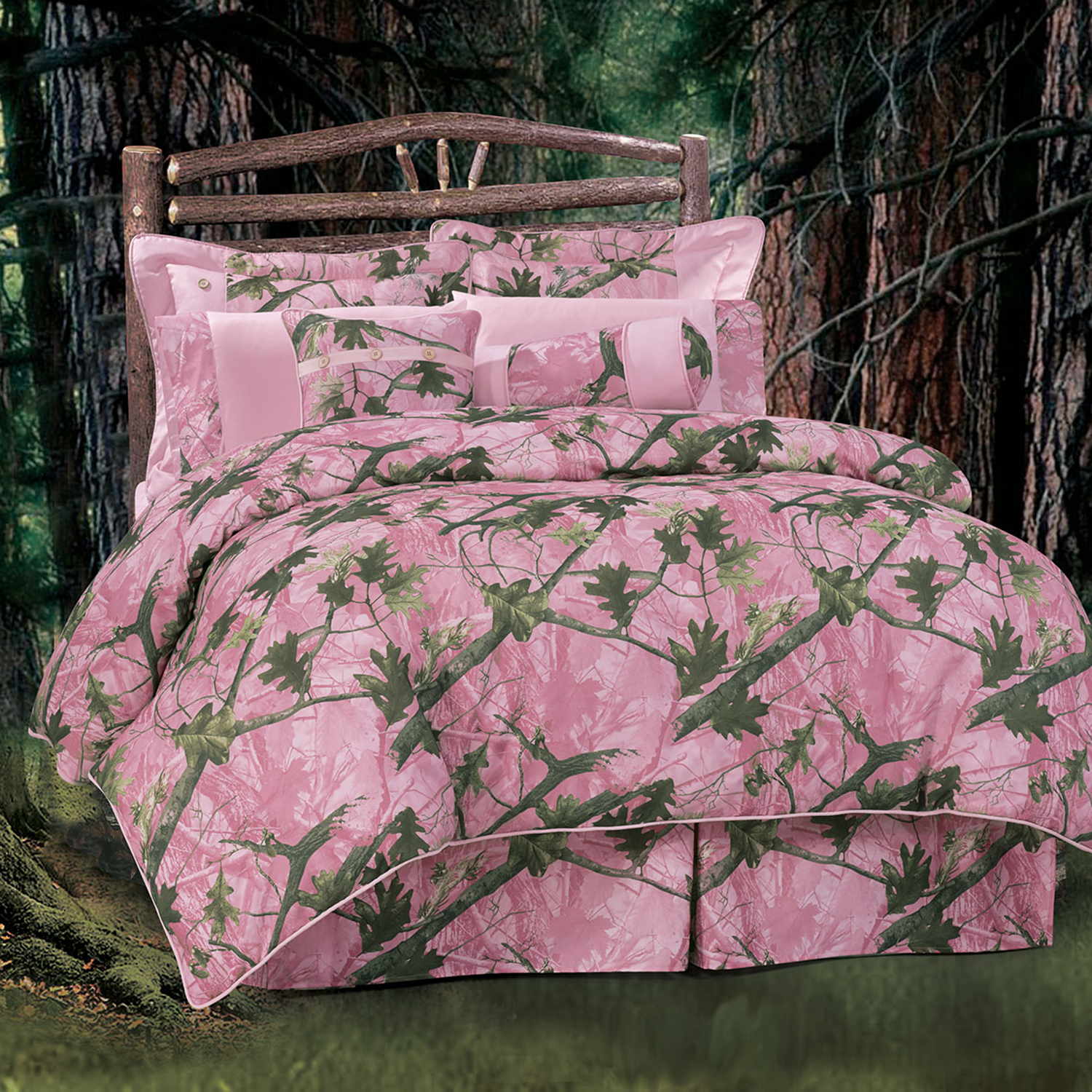Pink Camo By Hiend Accents Beddingsuperstore Com