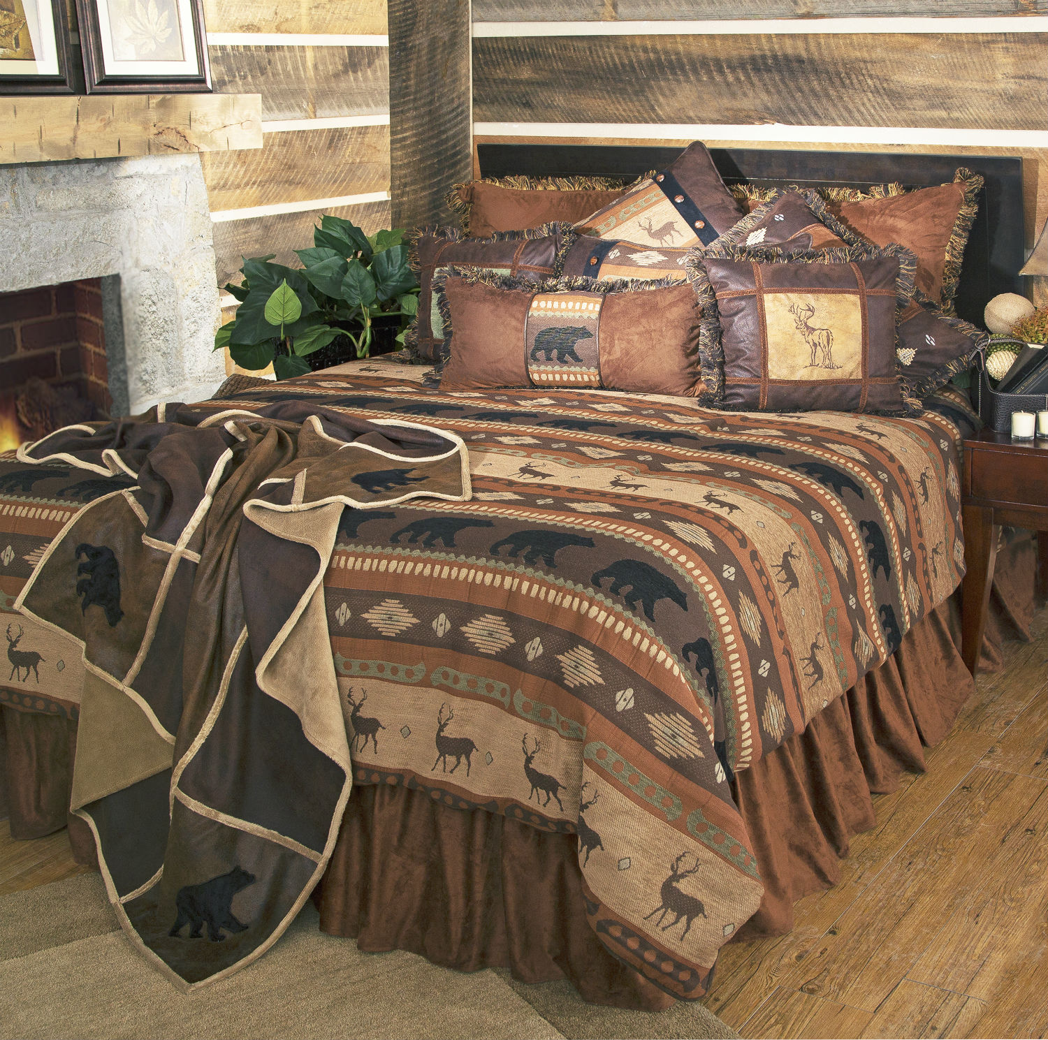 Autumn Trails by Carstens Lodge Bedding