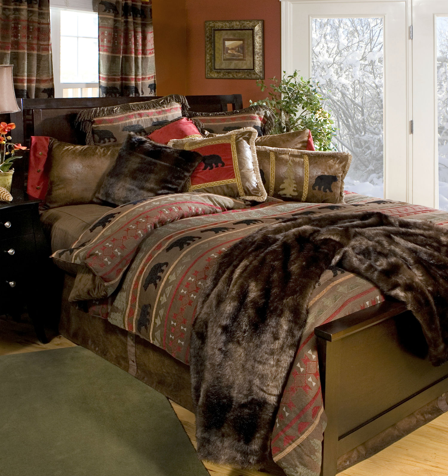 Bear Country By Carstens Lodge Bedding By Carstens Lodge