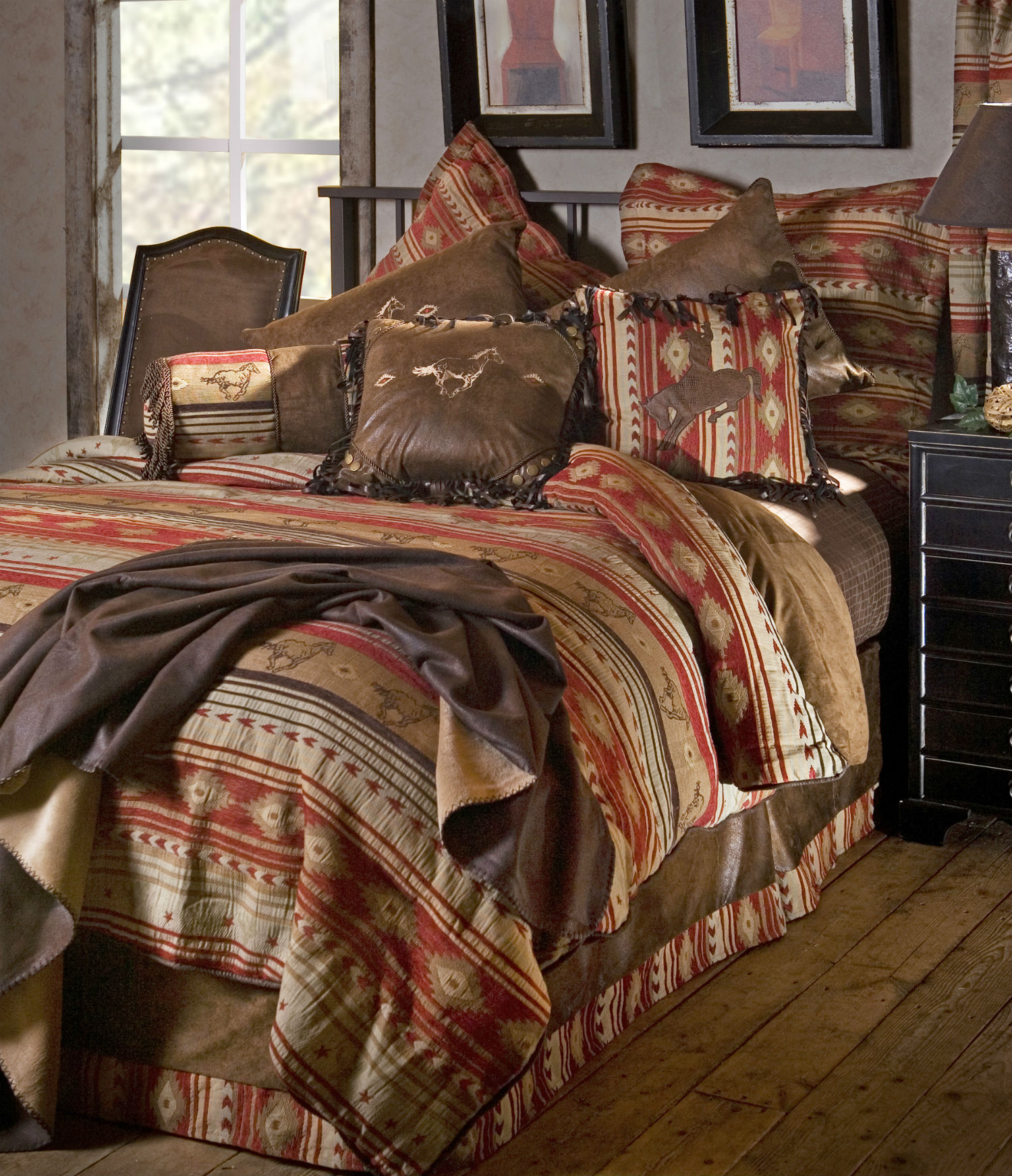 rustic horse carstens category bedding by zoom comforters in lodge comforter flying