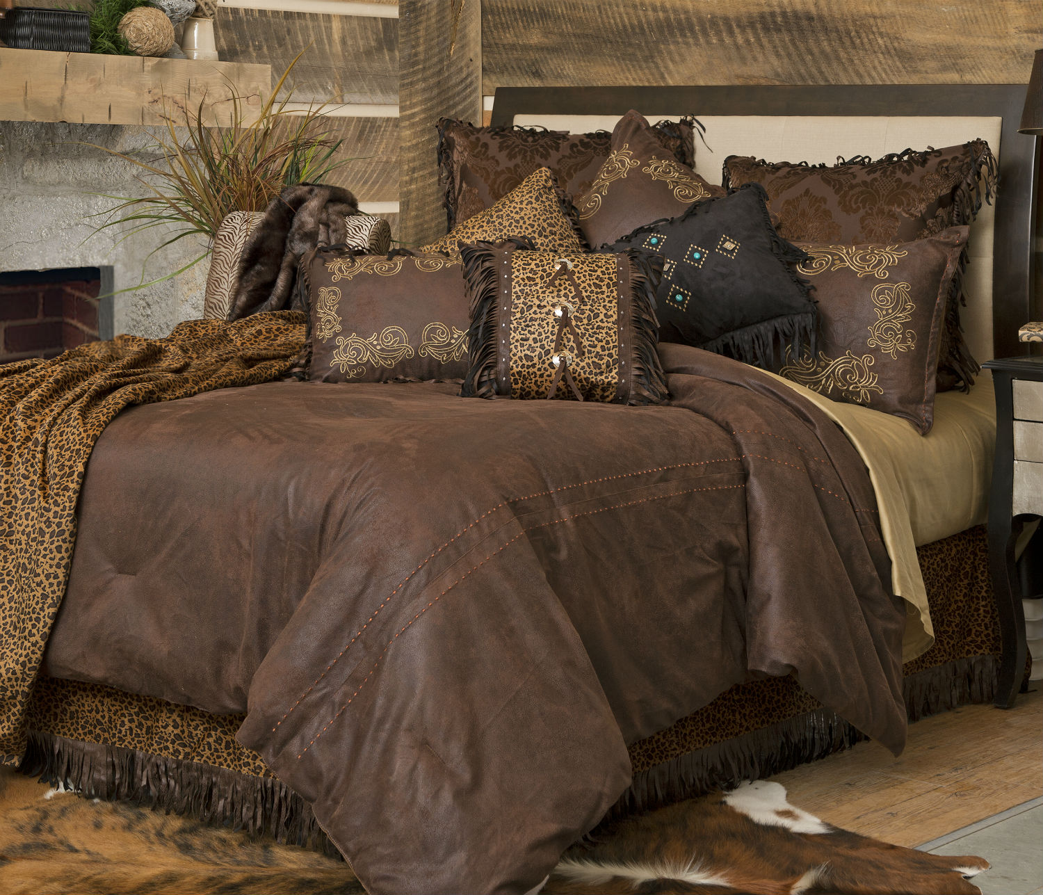 Gold Rush By Carstens Lodge Bedding Beddingsuperstore Com