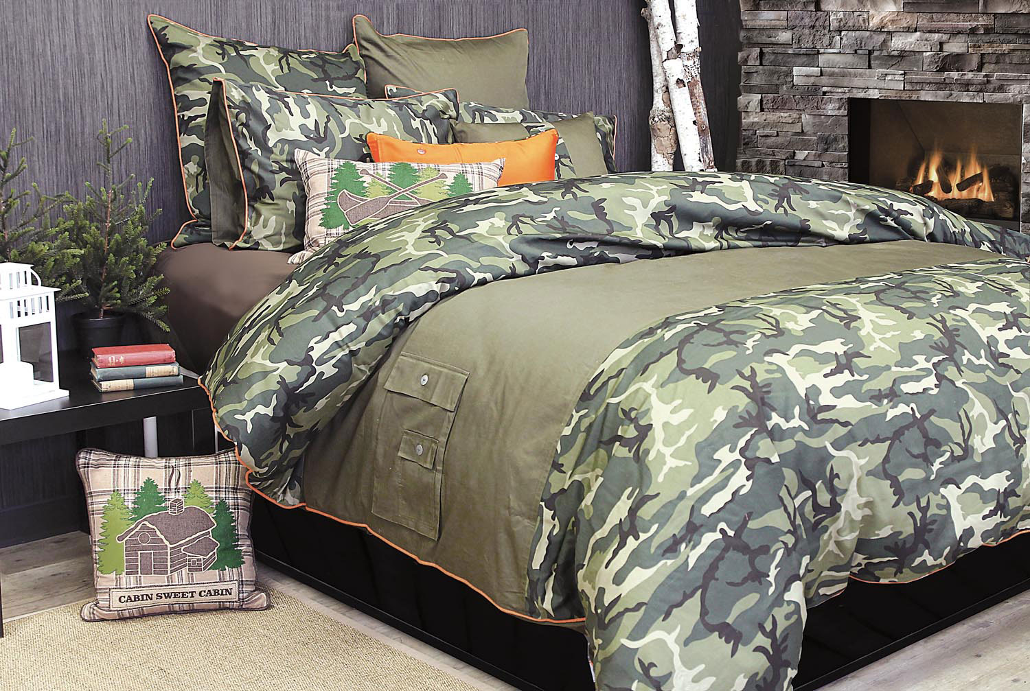 Glenroy Camouflage by Alamode Home