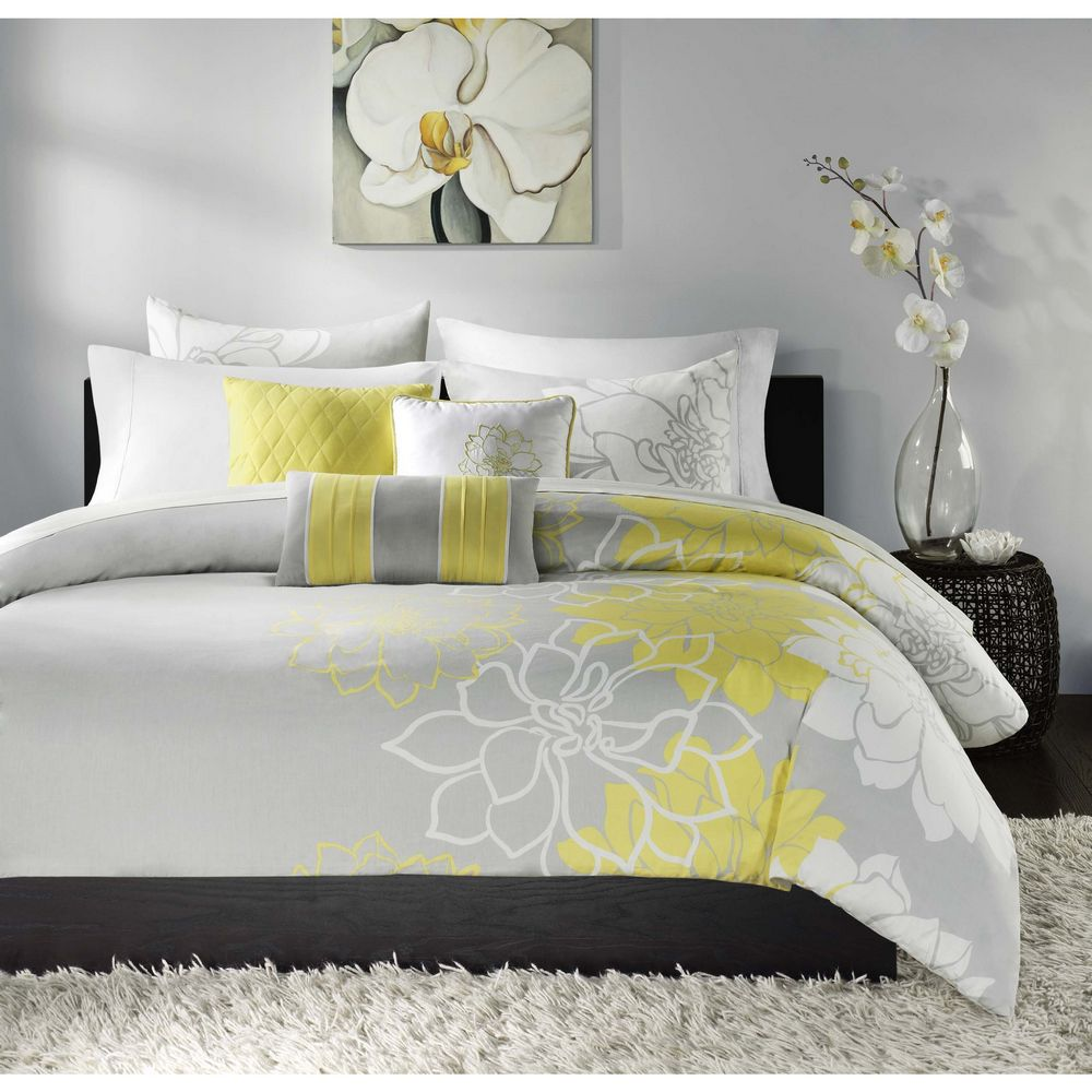 Lola Yellow By Madison Park Beddingsuperstore Com