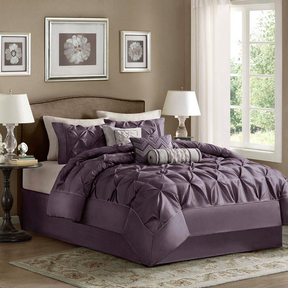 Laurel Purple By Madison Park Beddingsuperstore Com