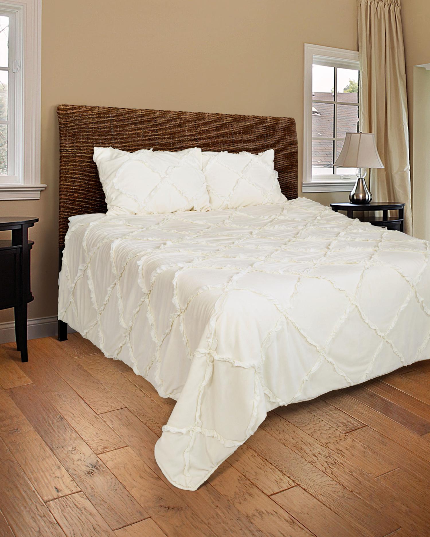 Posh Ivory By Rizzy Home Bedding Beddingsuperstore Com