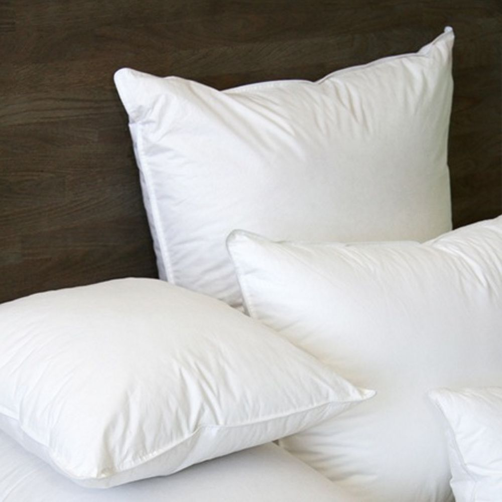 Mount Orford Feather Pillow by CD Bedding of CA