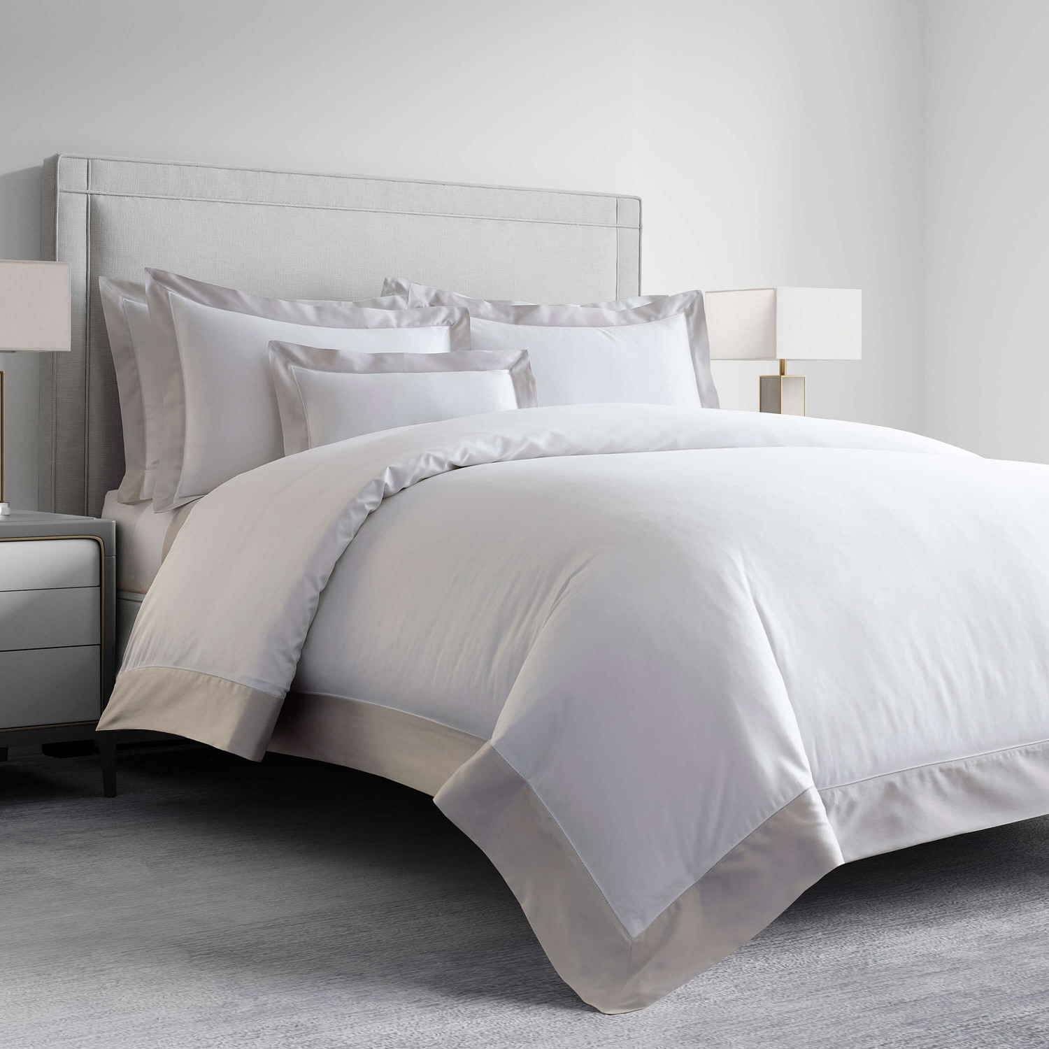 Vicenza by kassatex fine linens for Luxury hotel collection 800 tc egyptian cotton duvet cover set