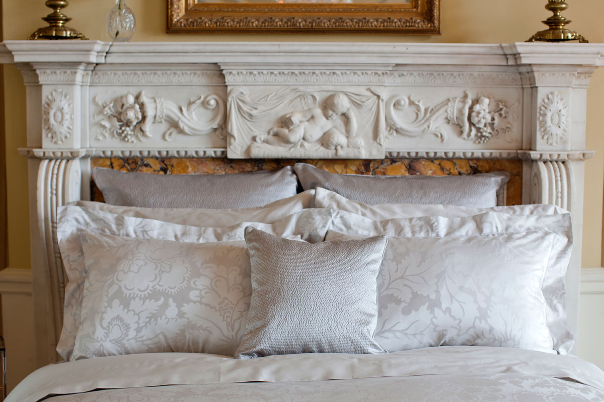 Ardere Matelasse Silver by St. Geneve Luxury Bedding