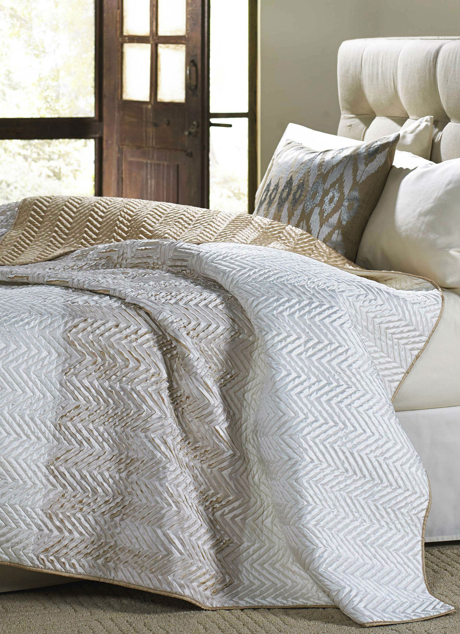 Tangier Ivory By Cloud 9 Quilts Beddingsuperstore Com