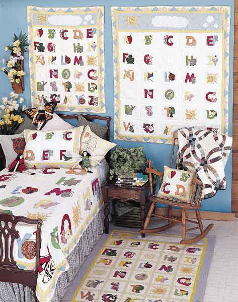 Abc Crib Bedding By Patchmagic Quilts Beddingsuperstore Com