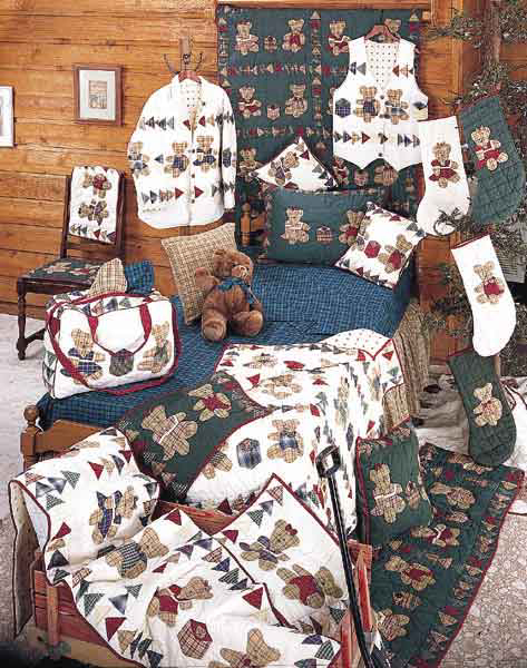 Brown Bear by Patchmagic Quilts