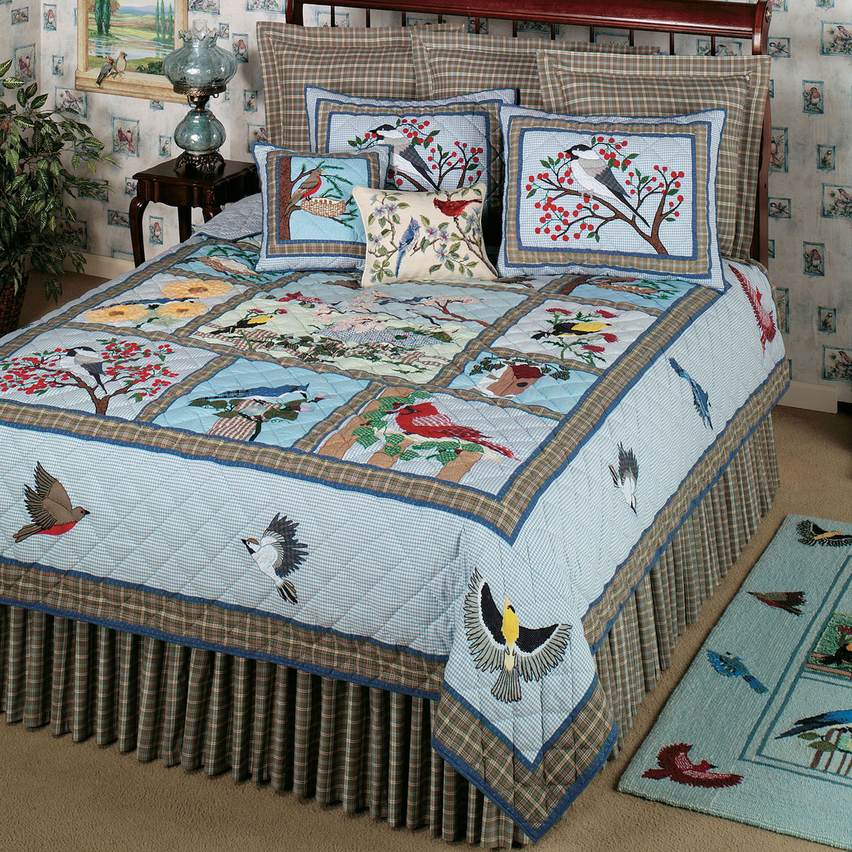 Songbirds By Patchmagic Quilts Beddingsuperstore Com