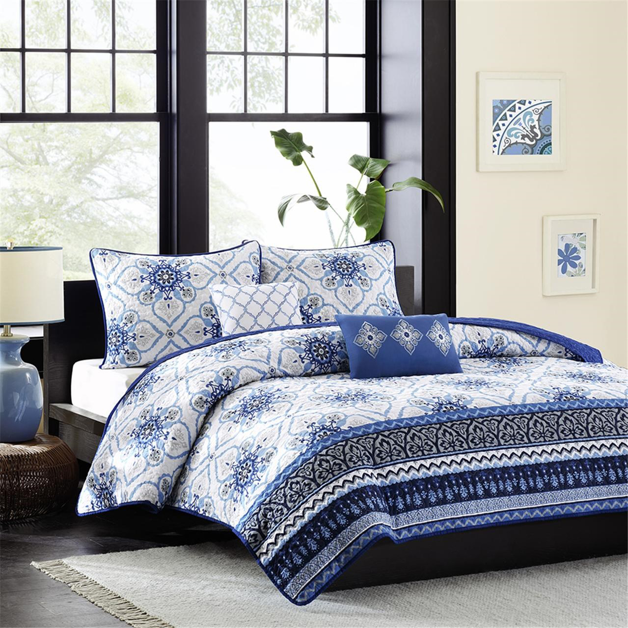 Cassy Coverlet  by Intelligent Design
