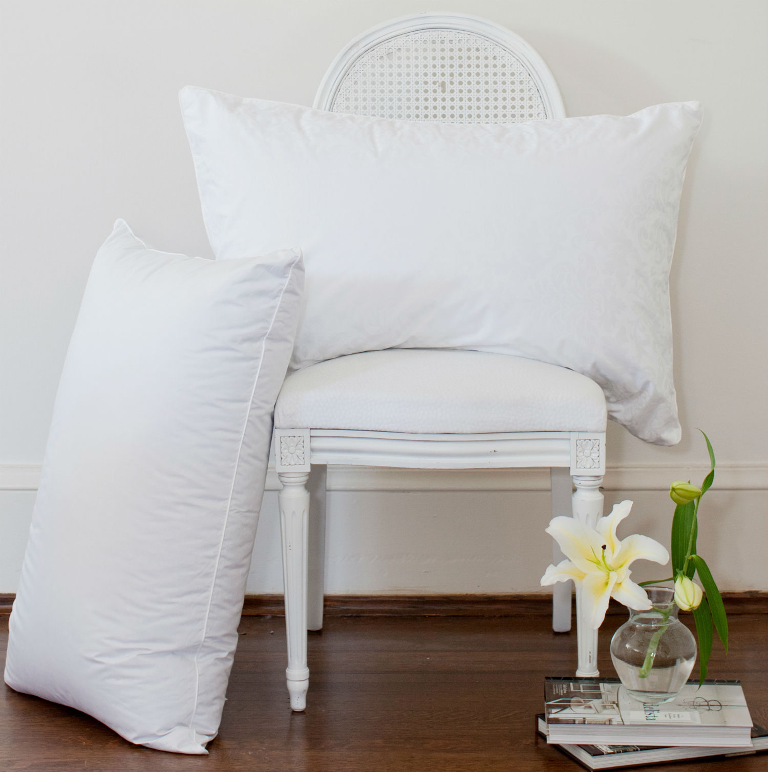James Bay Cotton Cover Pillow by St. Geneve Luxury Bedding