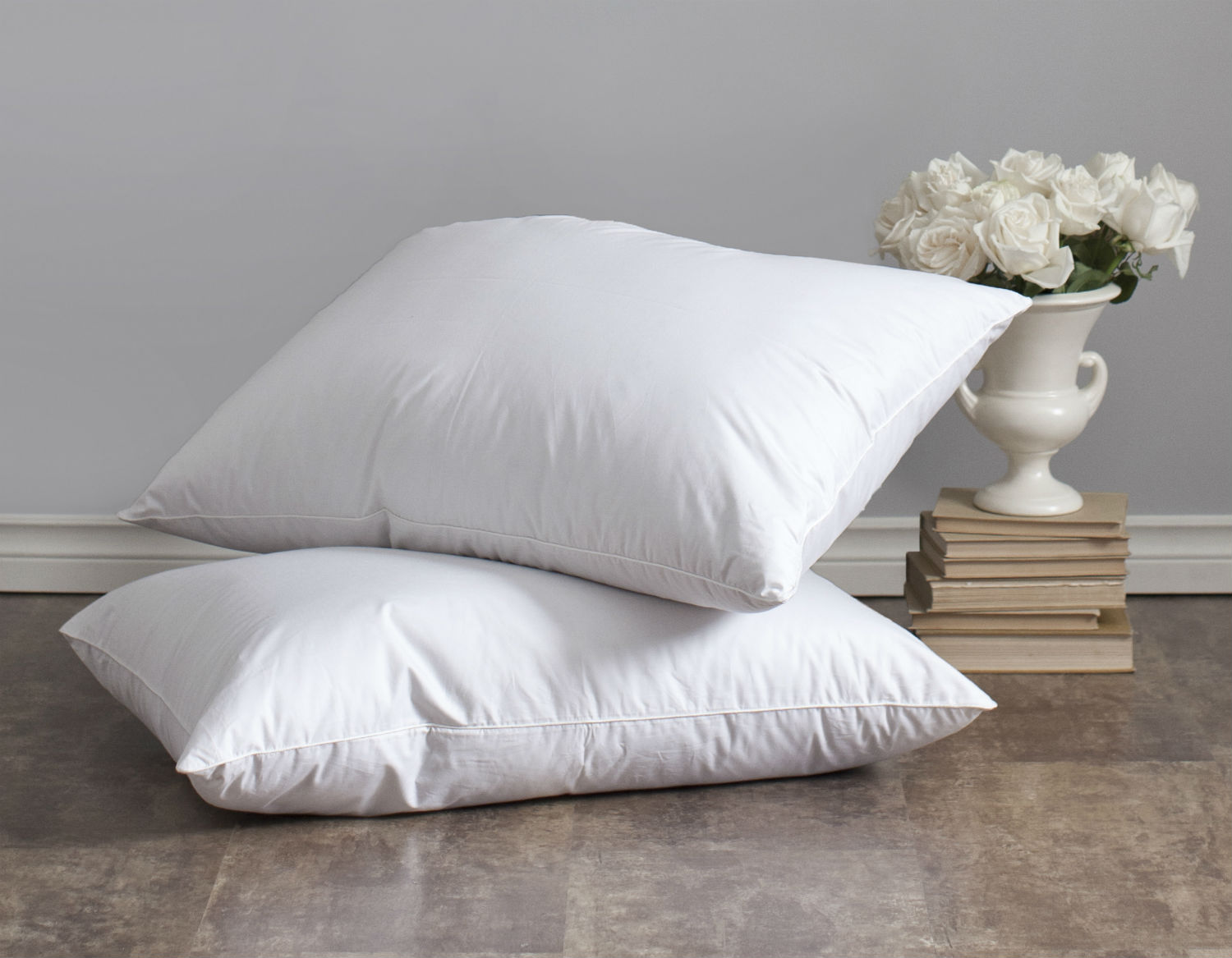 Lajord Down Pillow by St. Geneve Luxury Bedding