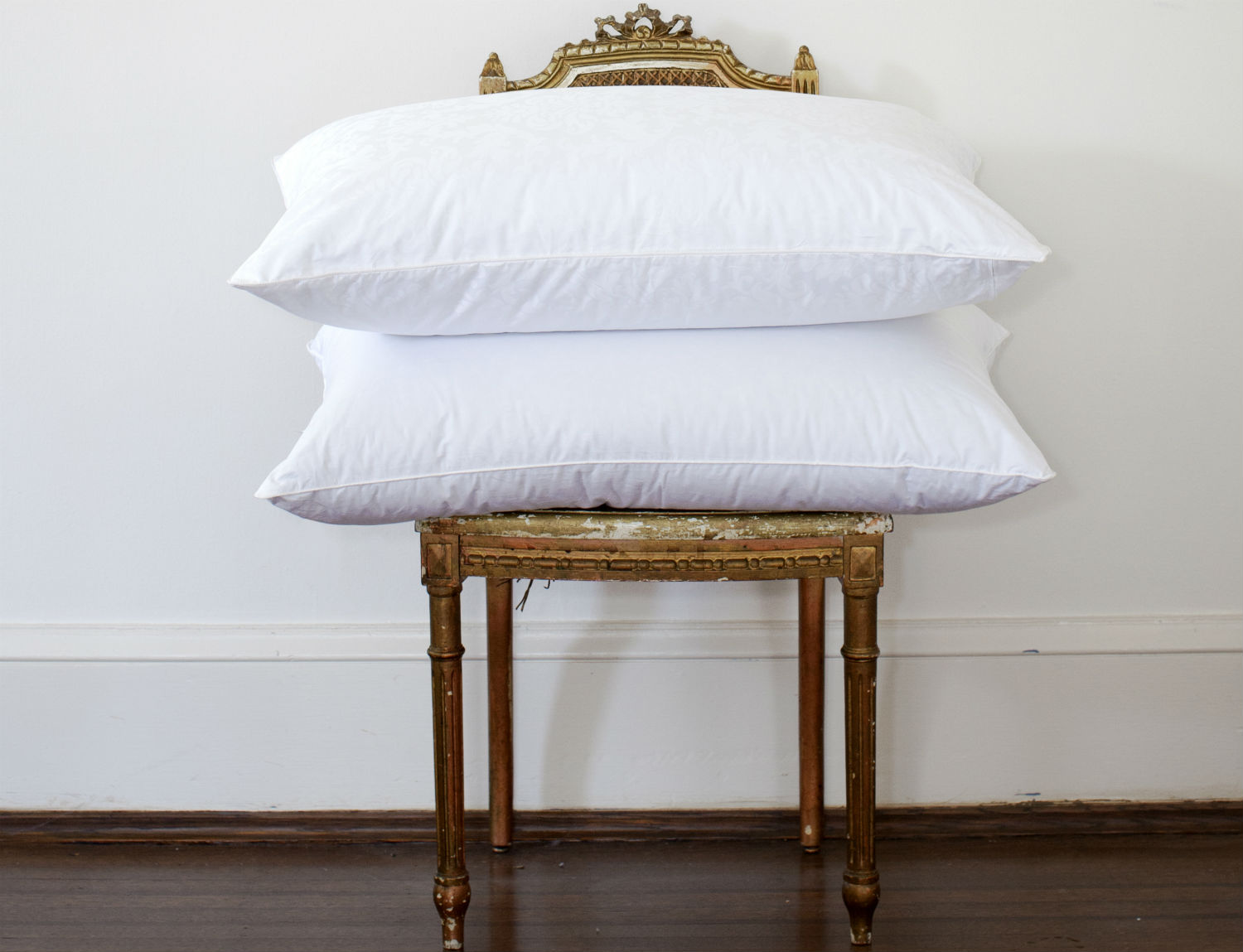 Montreux Down Pillow by St. Geneve Luxury Bedding