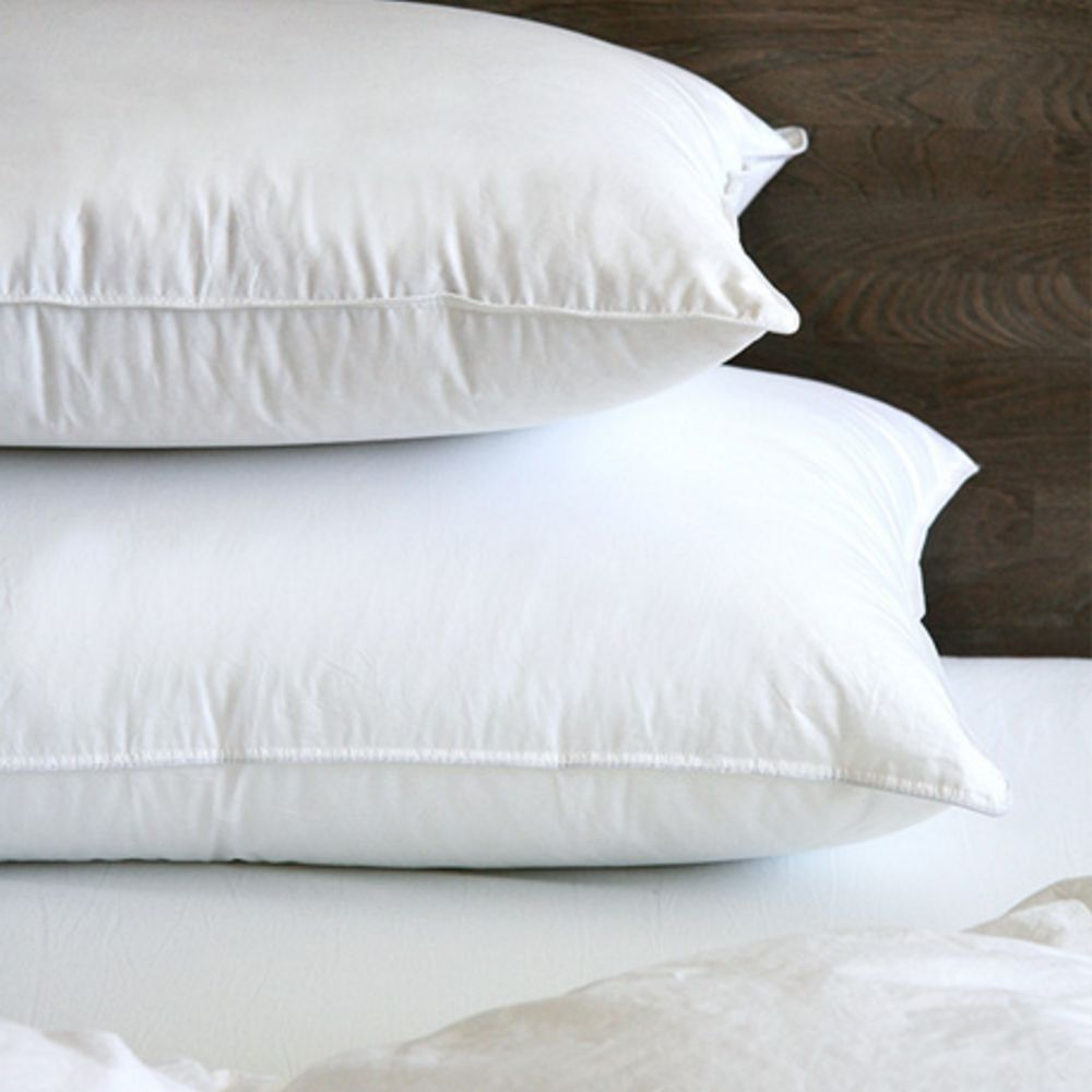 Whistler White Goose Down Pillow by CD Bedding of CA