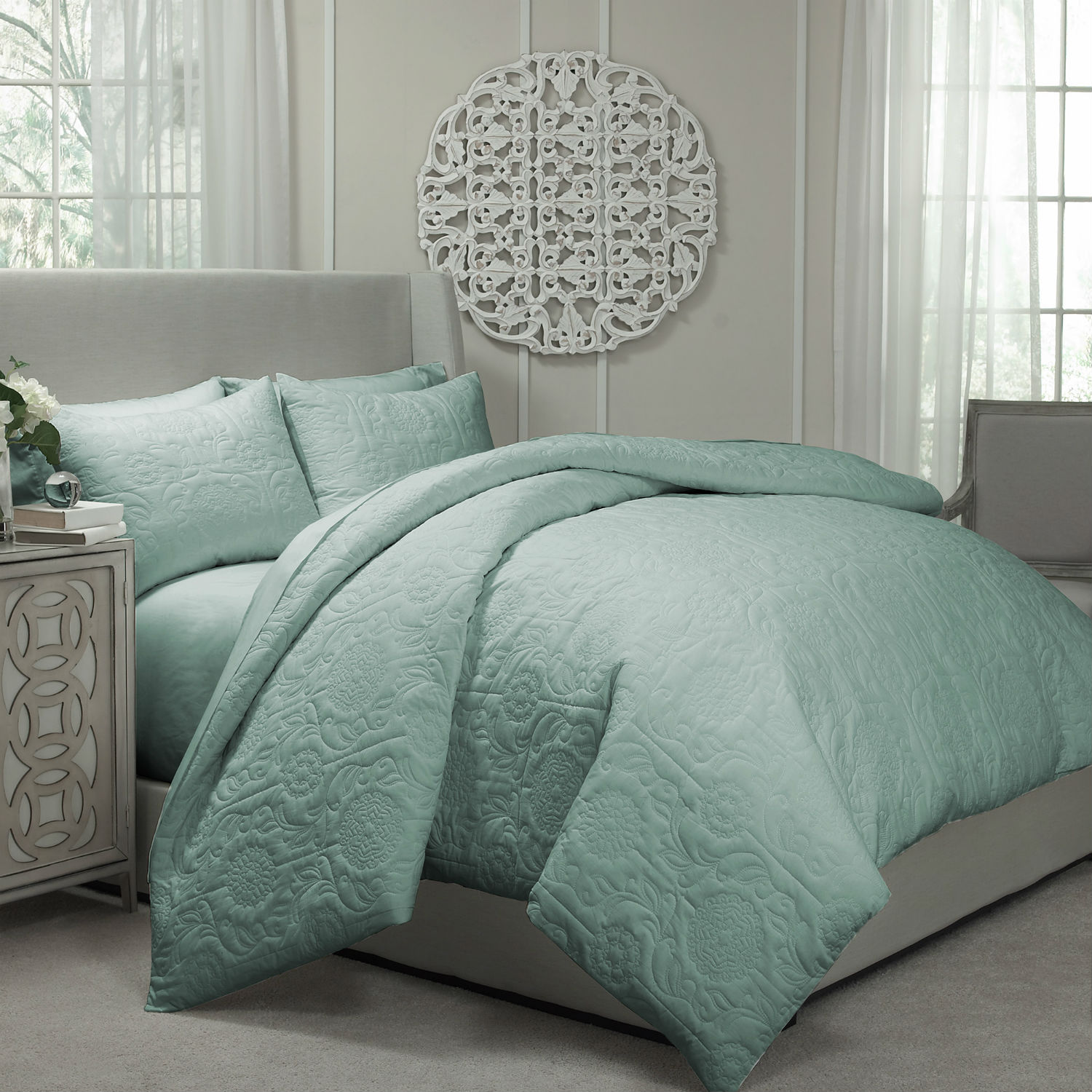 Barcelona Spa Blue By Vue Bedding Collection