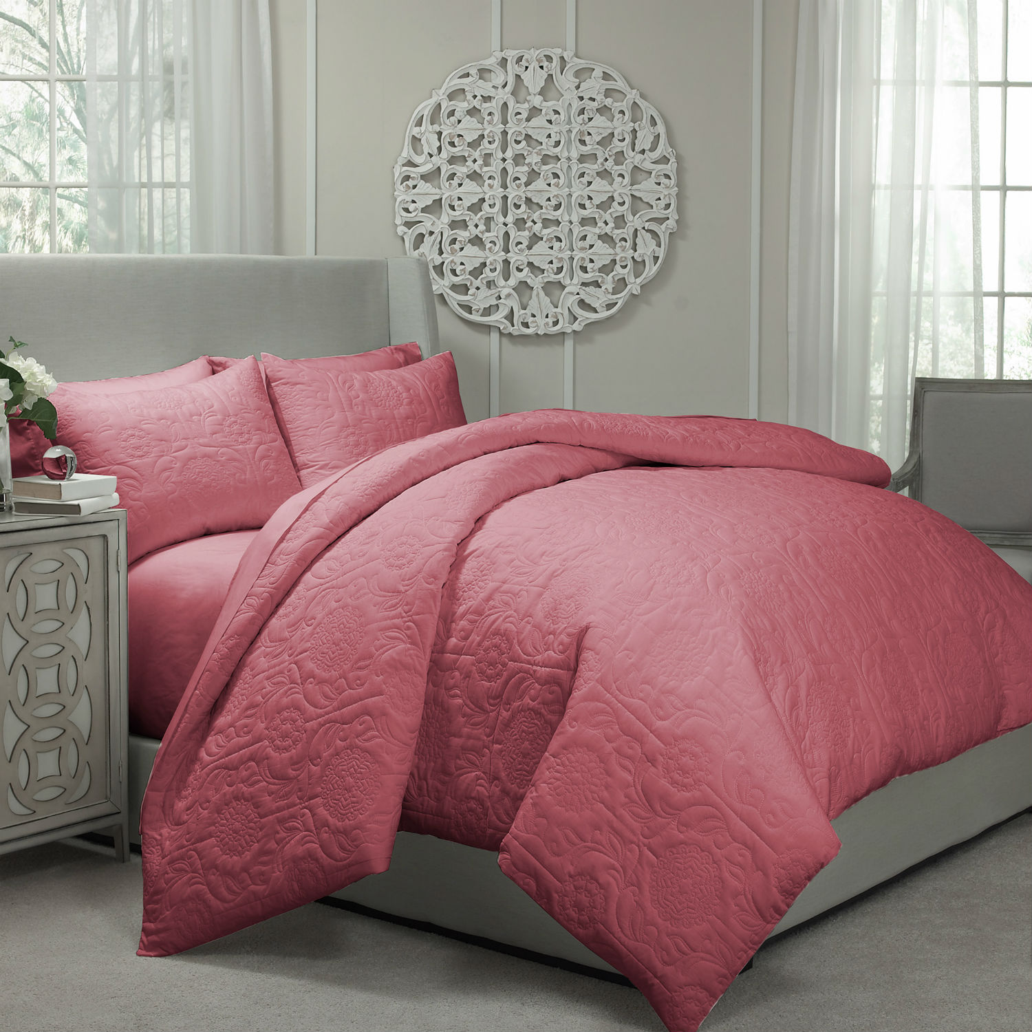Barcelona Coral By Vue Bedding Collection Beddingsuperstore Com
