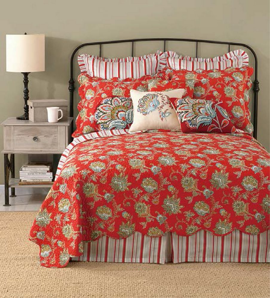 Jacobean Red By Laurel Amp Mayfair Quilts