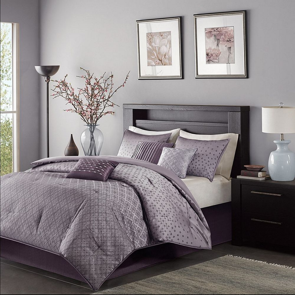 Grey And Lavender Bedroom ~ cryp.us