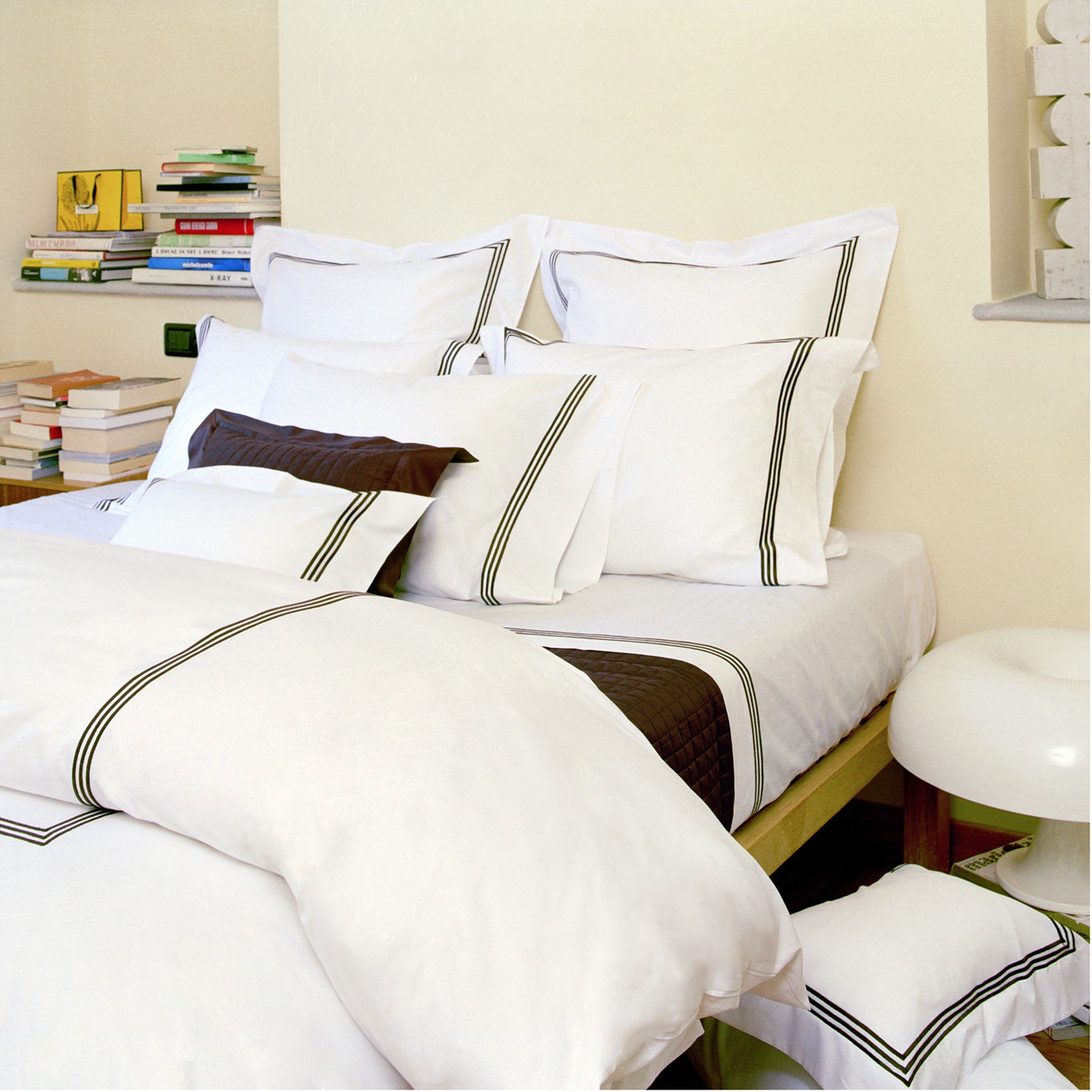 Hotel Collection Platinum: Platinum Quilted Coverlet By Signioria Firenze Bedding By