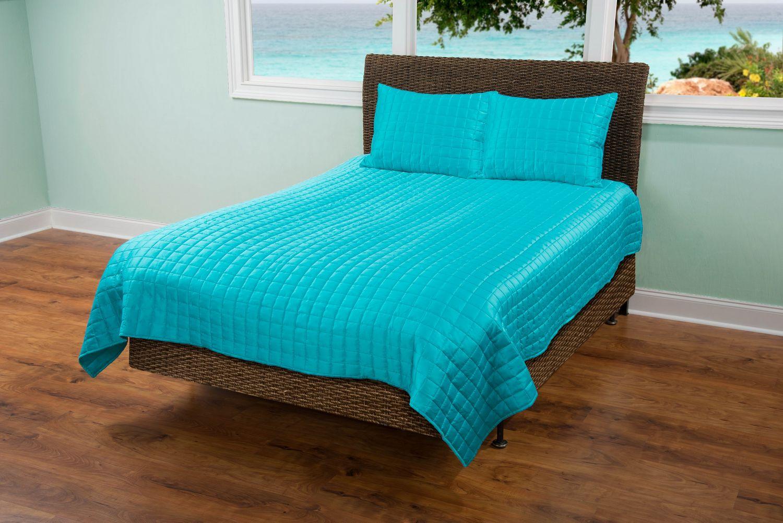 Aqua Shimmer By Rizzy Home Bedding Beddingsuperstore Com