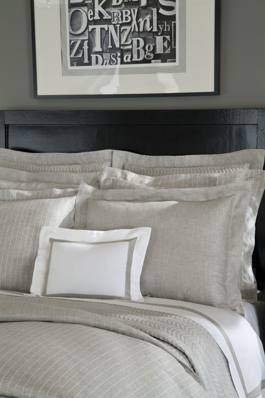 Chester Herringbone by Home Treasures Linens