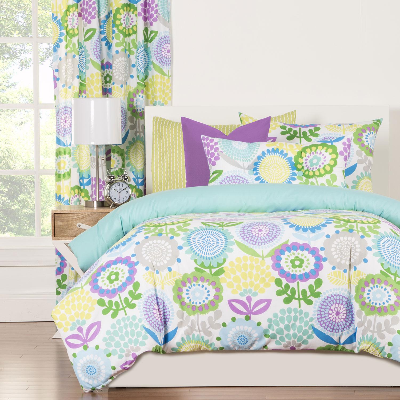 Pointillist Pansy By Crayola Bedding Beddingsuperstore Com