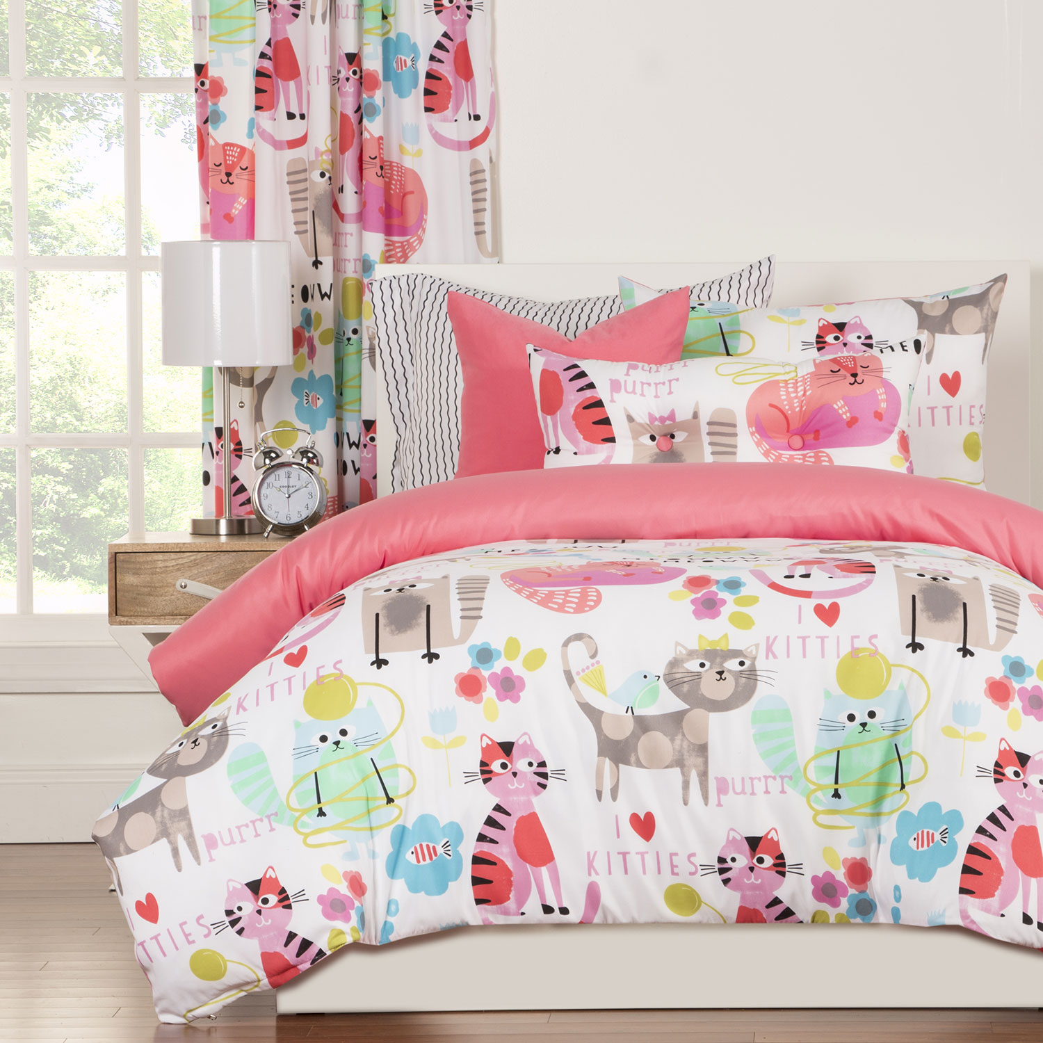 Purrty Cat By Crayola Bedding