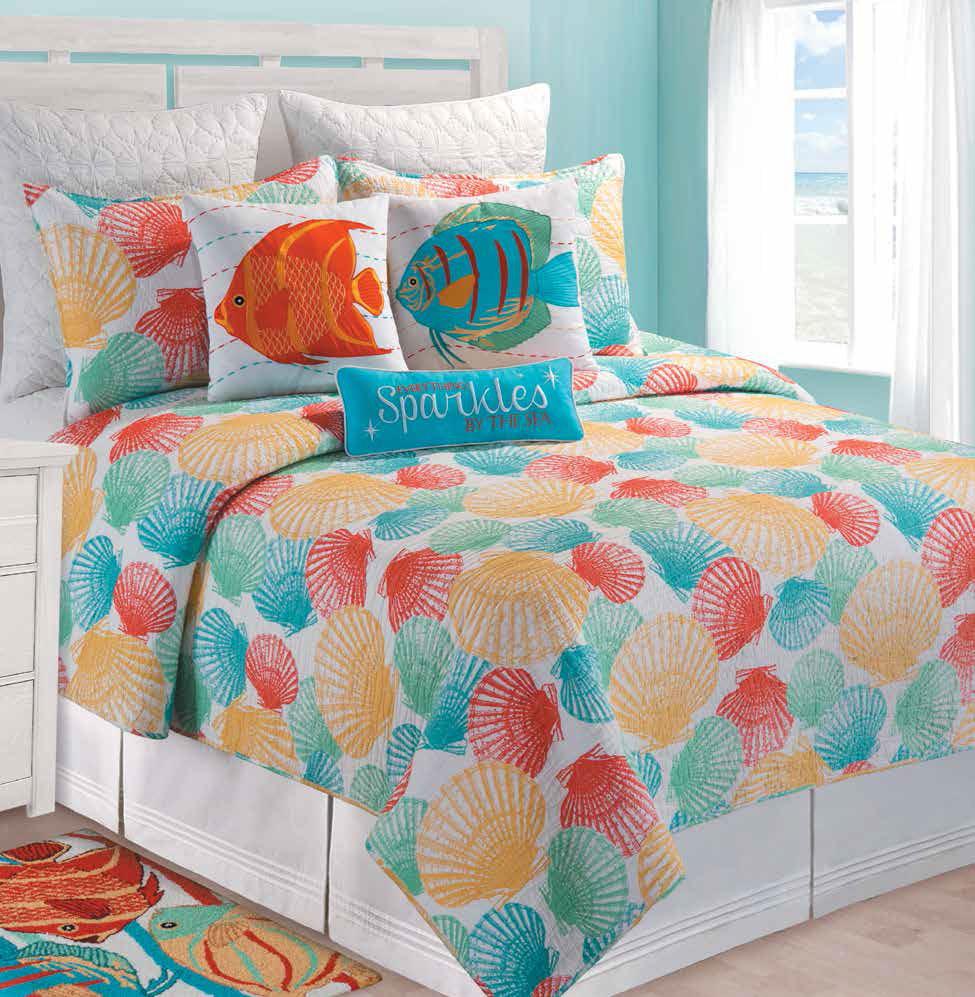 Captiva Island By C Amp F Quilts Beddingsuperstore Com