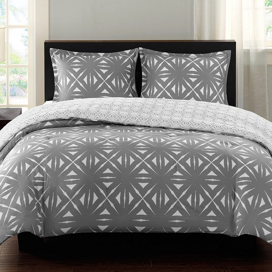 Lattice Geo Silver By Echo Design Beddingsuperstore Com