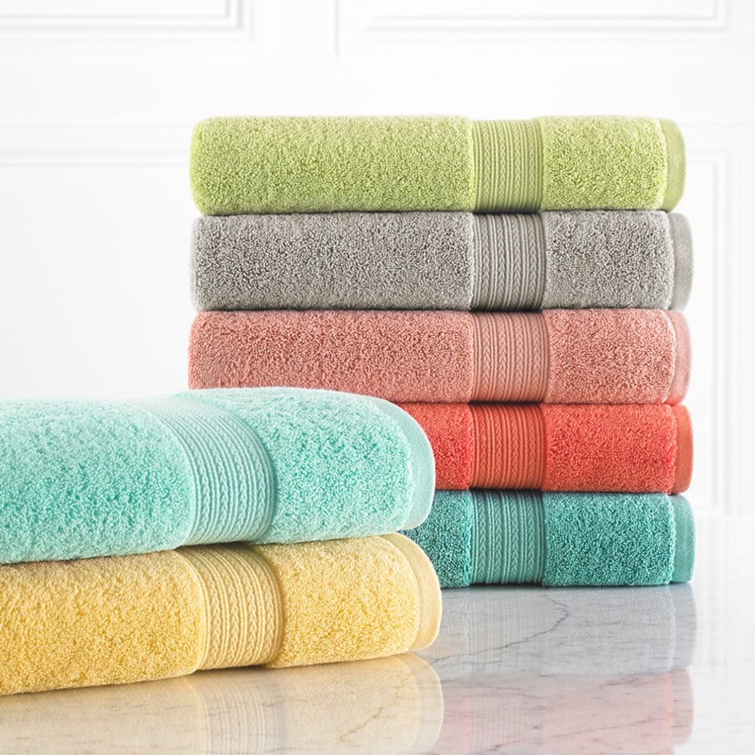 Kassadesign Brights Towel by Kassatex Fine Linens