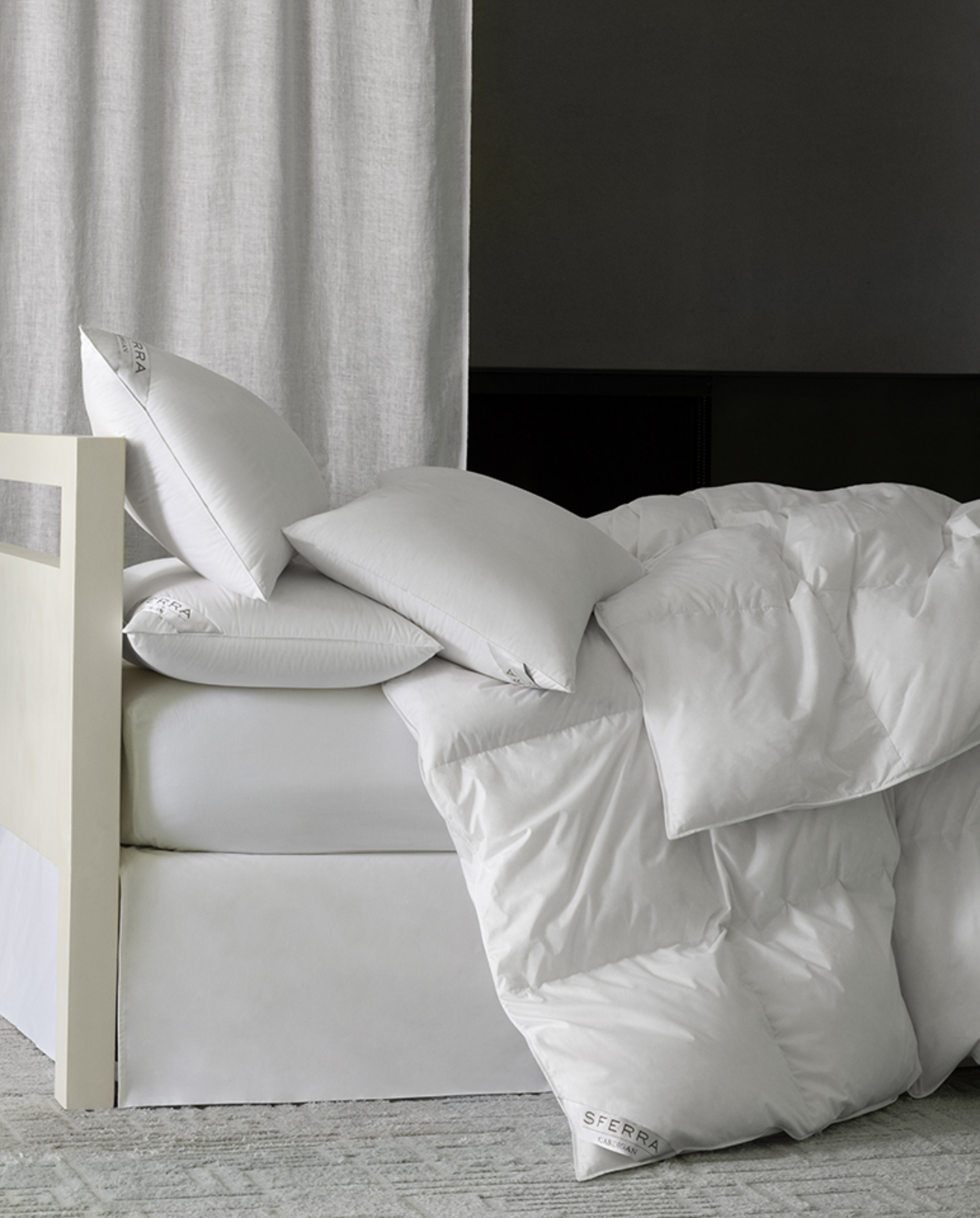 Cardigan Duvets & Pillows Collection by Sferra Fine Linens