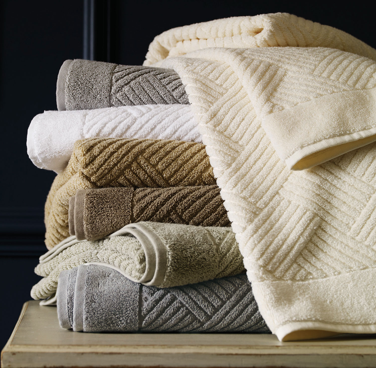 Pasha Luxury Towels by Sferra Fine Linens