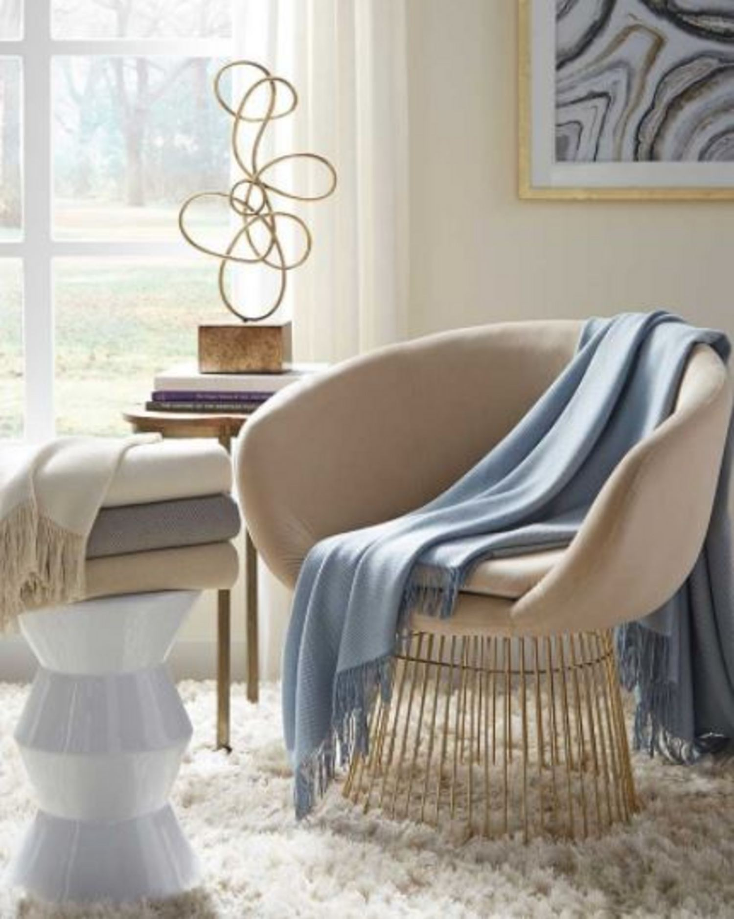 Bristol Throw by Sferra Fine Linens